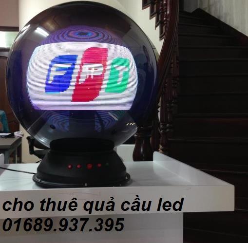 cho thuê quả cầu led